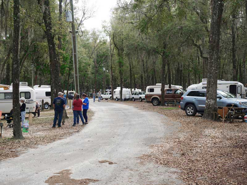 The Spirit of the Suwannee Music Park - The Florida Egg Rally and S'More